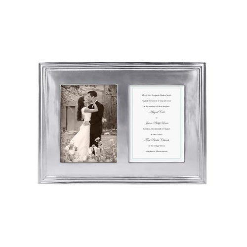 Mariposa Classic 5x7 Double Frame