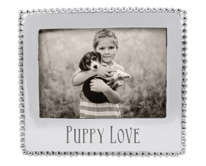 Mariposa Puppy Love Beaded 5x7 Statement Frame - NEW