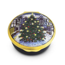 "Load image into Gallery viewer, Halcyon Days ""Christmas Tree"" Enamel Box"