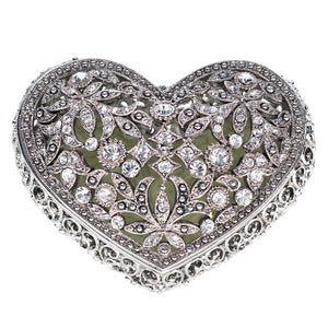 Olivia Riegel Silver Luxembourg Heart Box