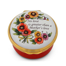 "Load image into Gallery viewer, Halcyon Days ""No Love is Greater Than a Mother's Love"" Enamel Box"