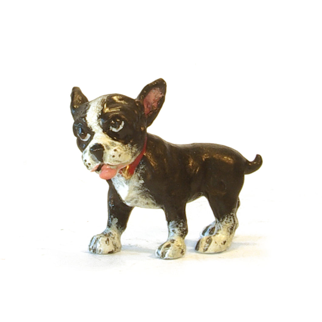 French Bulldog - Frenchie Puppy Vienna Bronze Figurine