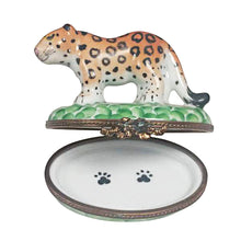 Load image into Gallery viewer, Cheetah Limoges Box