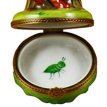 "Load image into Gallery viewer, Rochard ""Ladybug with Book"" Limoges Box"