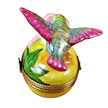"Load image into Gallery viewer, Rochard ""Hummingbird"" Limoges Box"