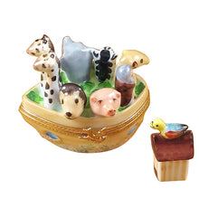 "Load image into Gallery viewer, Rochard ""Noah's Ark"" Limoges Box"