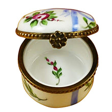 "Load image into Gallery viewer, Rochard ""Round Blue First Curl"" Limoges Box"