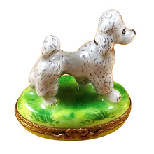 "Load image into Gallery viewer, Rochard ""Grey Poodle"" Limoges Box"