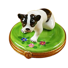 "Load image into Gallery viewer, Rochard ""Boston Terrier"" Limoges Box"