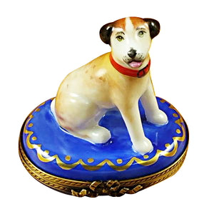 "Rochard ""Jack Russell Terrier"" Limoges Box"