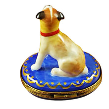 "Load image into Gallery viewer, Rochard ""Jack Russell Terrier"" Limoges Box"