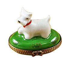 "Load image into Gallery viewer, Rochard ""Westie"" Limoges Box"