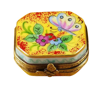 "Rochard ""Butterfly Octagon"" Limoges Box"