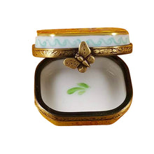 "Load image into Gallery viewer, Rochard ""Butterfly Octagon"" Limoges Box"