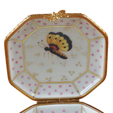"Load image into Gallery viewer, Rochard ""Studio Collection-Birds and Butterflies"" Limoges Box"