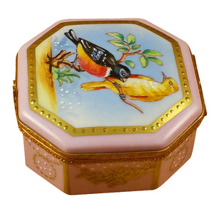 "Rochard ""Studio Collection-Birds and Butterflies"" Limoges Box"