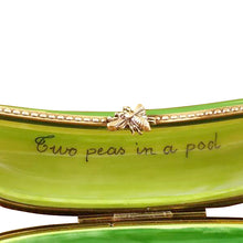 "Load image into Gallery viewer, Rochard ""Two Peas in a Pod"" Limoges Box"
