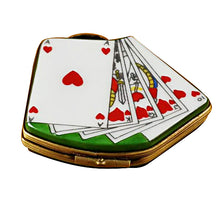 "Load image into Gallery viewer, Rochard ""Deck of Cards"" Limoges Box"