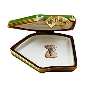 "Rochard ""Deck of Cards"" Limoges Box"