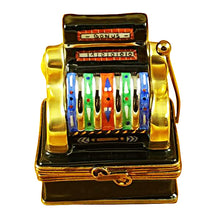 "Load image into Gallery viewer, Rochard ""Jackpot Slot Machine"" Limoges Box"