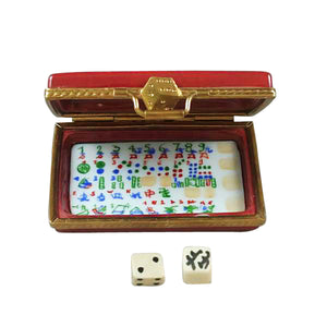 "Rochard ""Mahjong Set"" Limoges Box"