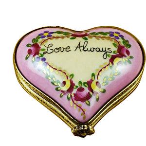 "Rochard ""Heart - Love Always"" Limoges Box"