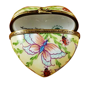 "Rochard ""Butterfly Heart"" Limoges Box"