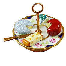 "Load image into Gallery viewer, Rochard ""Cheese Plate"" Limoges Box"