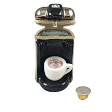 "Load image into Gallery viewer, Rochard """"R"" Cup Coffee Maker with Removable ""R"" Cup"" Limoges Box"