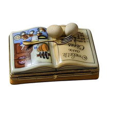 "Load image into Gallery viewer, Rochard ""Cookbook - Omelet"" Limoges Box"