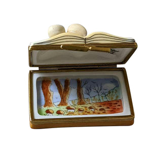 "Rochard ""Cookbook - Omelet"" Limoges Box"