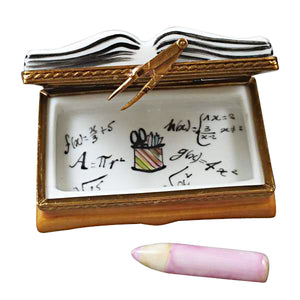 "Rochard ""I Love My Teacher Book"" Limoges Box"