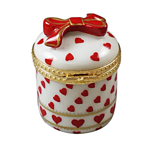 "Rochard ""Heart Jewel Box - Be My Valentine"" Limoges Box"