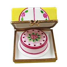 "Load image into Gallery viewer, Rochard ""Cake Box with Cake"" Limoges Box"