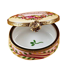 "Load image into Gallery viewer, Rochard ""Friendship Oval"" Limoges Box"