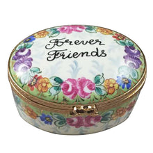 "Load image into Gallery viewer, Rochard ""Forever Friends Oval"" Limoges Box"