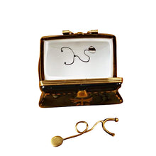 "Load image into Gallery viewer, Rochard ""Doctor's Bag with Stethoscope"" Limoges Box"