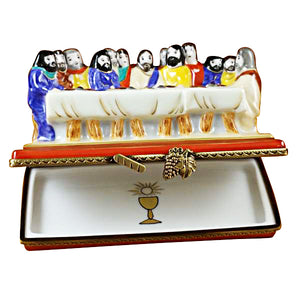 "Rochard ""Last Supper"" Limoges Box"