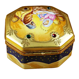 "Rochard ""Nativity Octagon"" Limoges Box"