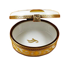 "Load image into Gallery viewer, Rochard ""Menorah - White"" Limoges Box"