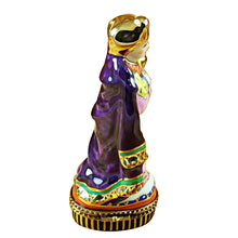 "Load image into Gallery viewer, Rochard ""Wiseman - Purple Coat"" Limoges Box"