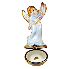 "Load image into Gallery viewer, Rochard ""Nativity Angel"" Limoges Box"
