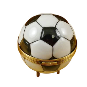"Rochard ""Soccer Ball"" Limoges Box"