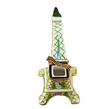 "Load image into Gallery viewer, Rochard ""Eiffel Tower Iridescent"" Limoges Box"