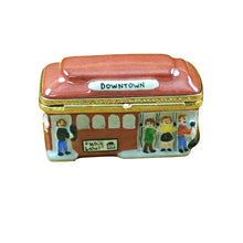"Load image into Gallery viewer, Rochard ""San Francisco Trolley"" Limoges Box"