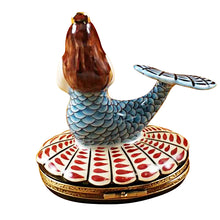 "Load image into Gallery viewer, Rochard ""Mermaid"" Limoges Box"