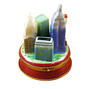 "Rochard ""New York by Night"" Limoges Box"