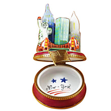 "Load image into Gallery viewer, Rochard ""New York by Night"" Limoges Box"
