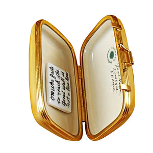 "Rochard ""China Suitcase"" Limoges Box"