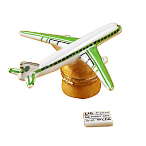 "Rochard ""Airplane - Rochard Airlines"" Limoges Box"